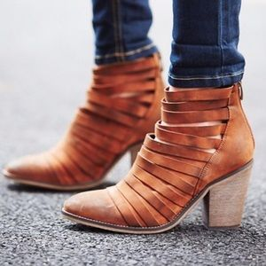 NWB Free People Hybrid Heel Boot in Terracotta 38